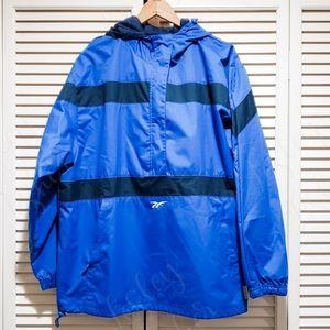 Mens Reebok Pullover Hooded Jacket